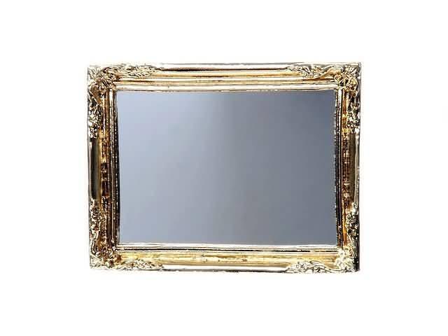 Spiegel Met Lijst : Antike spiegel in gouden lijst