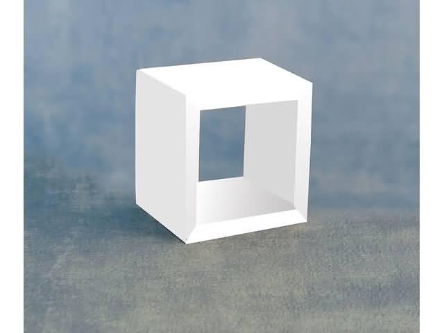 Witte Kast Met Open Vak